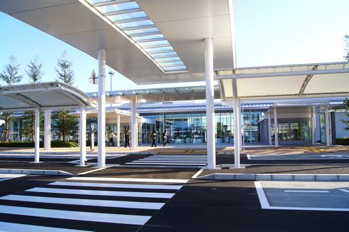 岩国錦帯橋空港 オープン!空港施設や内部のようす