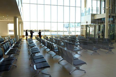 岩国錦帯橋空港 待ち合い場所の写真