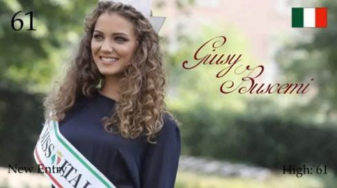 2012年 世界で最も美しい顔100人 ジェシーブシェミ