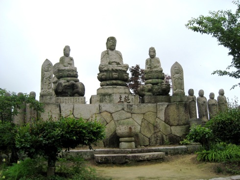 白滝山 五百羅漢 石仏の画像