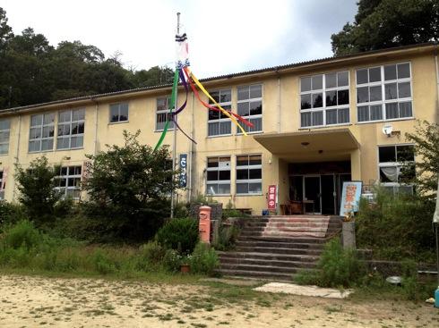 神石高原 学校食堂 廃校利用レストラン