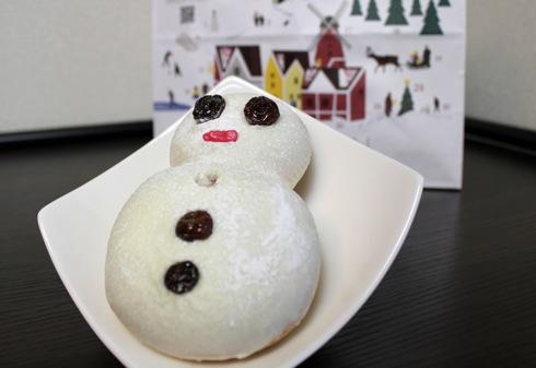 アンデルセン 雪だるまパン2