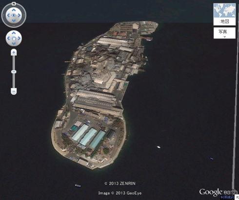 広島の軍艦島 契島 ちぎりじま