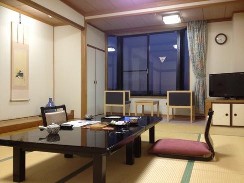 きのえ温泉ホテル清風館 の客室