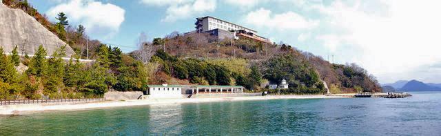きのえ温泉 ホテル清風館 外観のパノラマ写真
