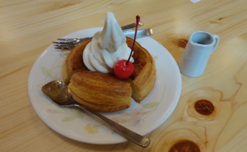 コメダ珈琲店 広島 シロノワールの画像