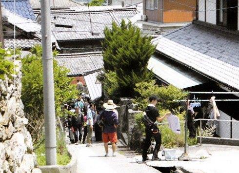 映画 東京家族の撮影風景 画像2