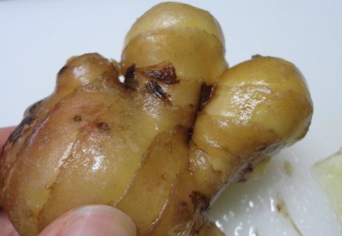 ウルトラ蒸しショウガ(乾姜)、体を温めるスゴイ生姜