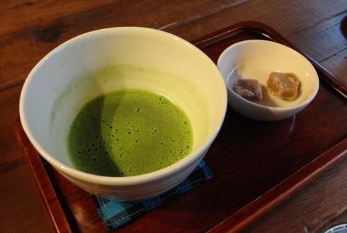 日本茶ばーUZI(ウージー) 抹茶のセット