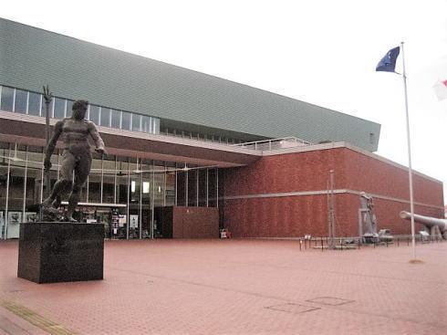 広島県呉市 大和ミュージアム 正面玄関