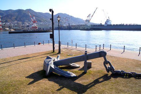 大和波止場公園は、呉ムードを満喫出来る「戦艦大和」型公園!デートやお散歩にも