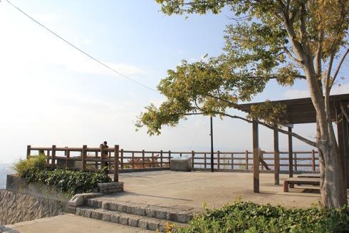 広島 黄金山の展望台