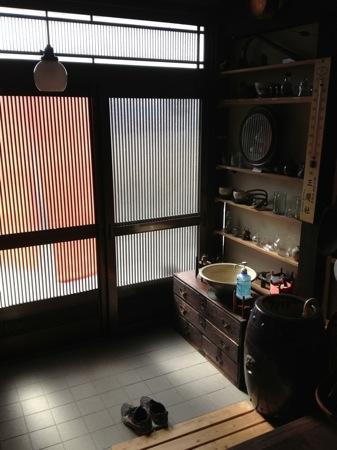 喫茶ぽれぽれ 玄関