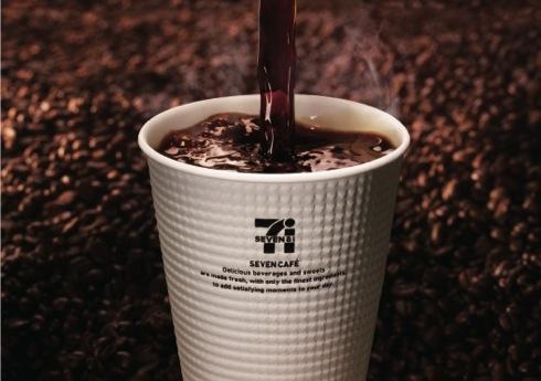 セブンカフェ、セブンイレブンが 入れたて100円コーヒー