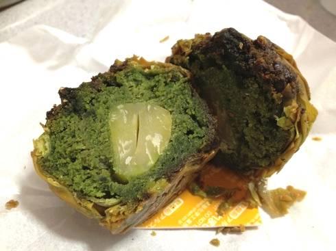 広島 焼きモンブラン 抹茶味2