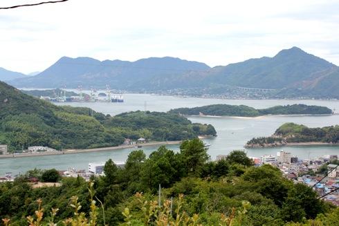 因島公園 からの眺め 画像1