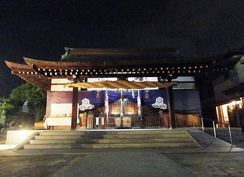 観音神社の本殿