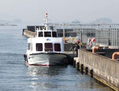 マリーナホップ桟橋 宮島への高速船