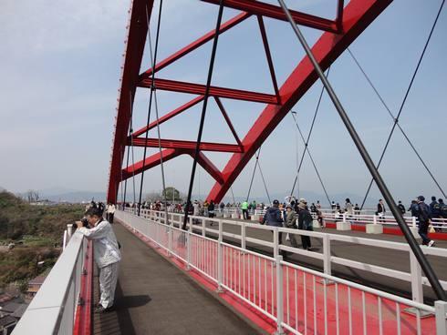 第二音戸大橋(日招き大橋) ウォーキングイベントの様子3