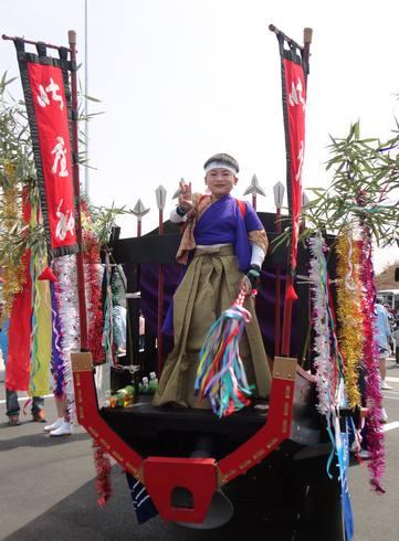 第二音戸大橋(日招き大橋) イベントで清盛祭2