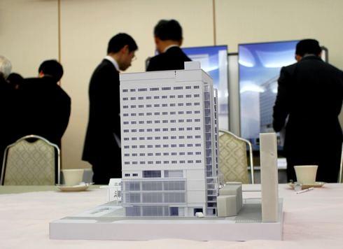 広島ワシントンホテル 模型
