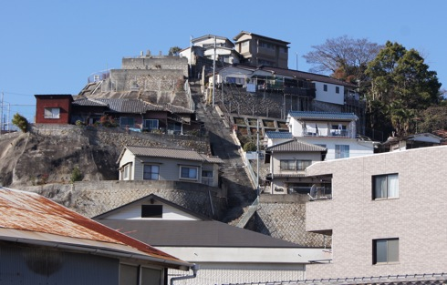 呉市 両城の200階段、映画 海猿ロケ地へ登ってみた