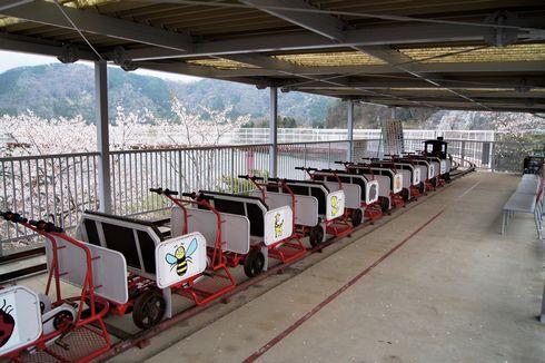 土師ダム サイクル列車