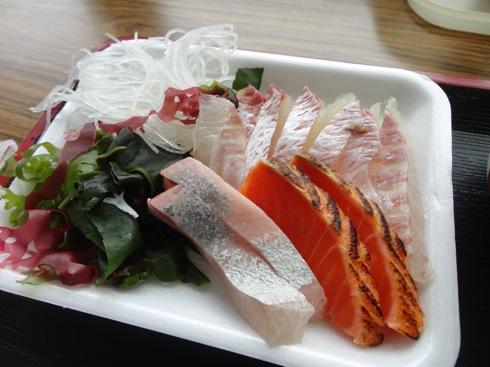 江田島 海辺の海鮮市場 刺身の写真2