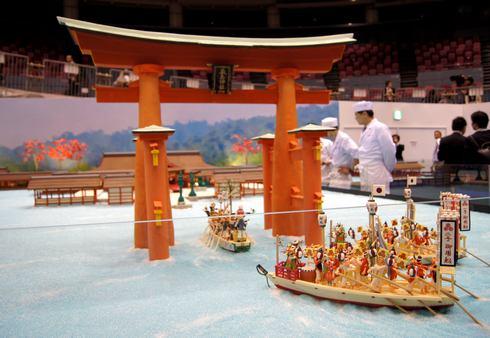 ひろしま菓子博2013 お菓子の厳島神社