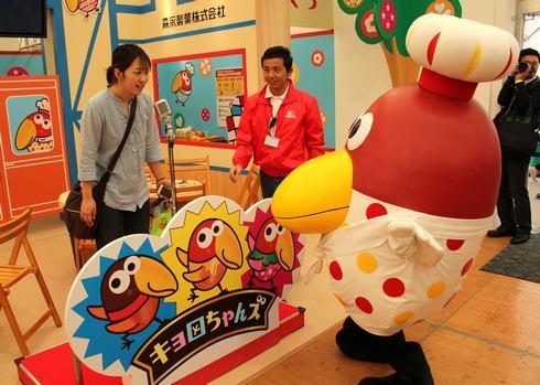 ひろしま菓子博2013 森永のブース