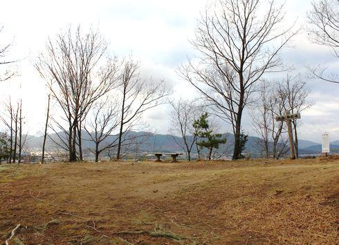 鏡山城跡 山頂の画像