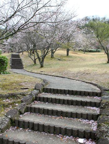 鏡山公園 ウォーキングロード