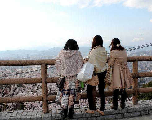 黄金山 展望台から眺める
