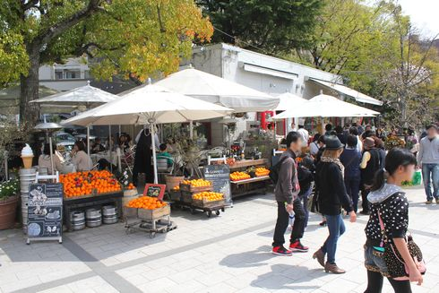 広島市 平和公園前のカフェ