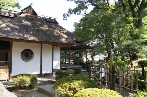 縮景園 茶室