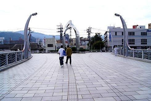 海田町 ひまわり大橋 橋の中央部