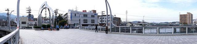 ひまわり大橋 パノラマ写真