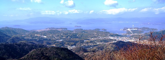 神峰山 展望台からの景色