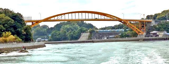 高根大橋(広島県・瀬戸田町)