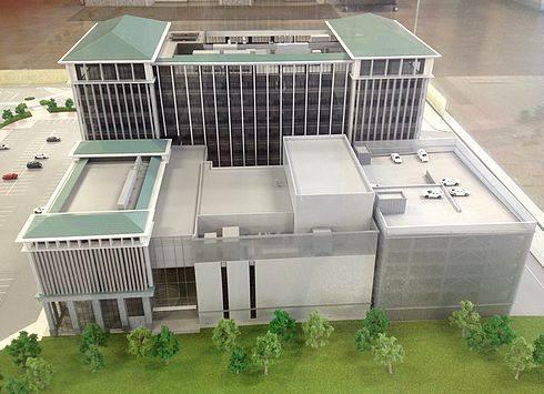 呉市新庁舎、呉市役所の完成イメージ1