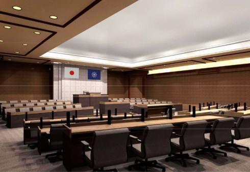 呉市新庁舎 議場 イメージ