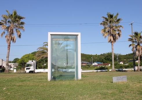 生口島 島ごと美術館の 地上と地下の間で