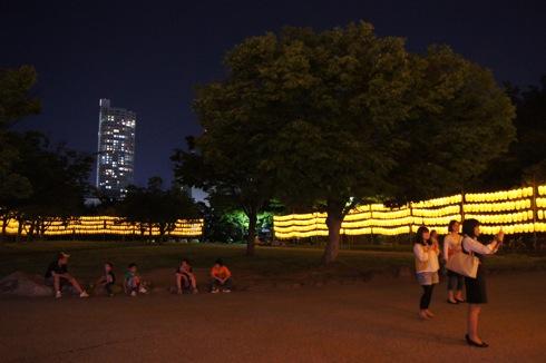 広島護国神社 万灯みたま祭 提灯の画像3