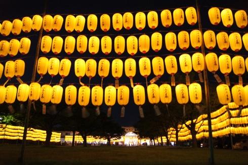 広島護国神社 万灯みたま祭 提灯の画像4