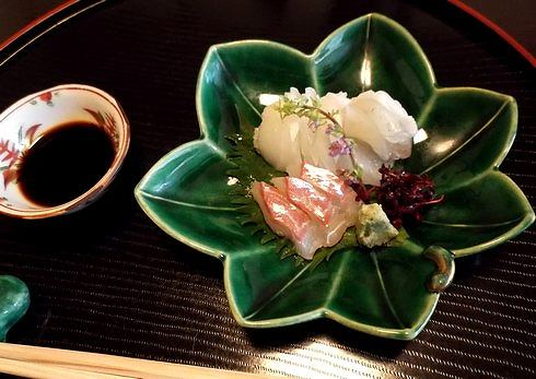 廿日市 山茶花(さざんか) お刺身の画像