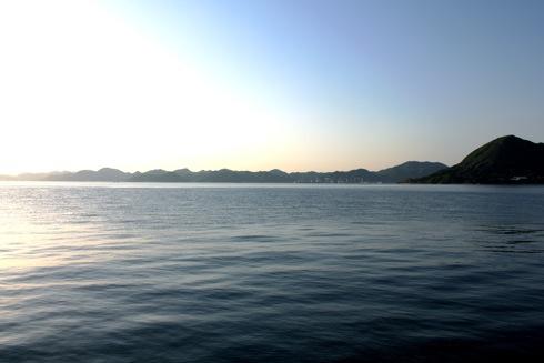 瀬戸田サンセットビーチ 沖の画像
