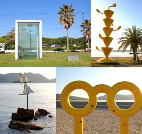 島ごと美術館、生口島(尾道市瀬戸田)をぐるりアートで囲む
