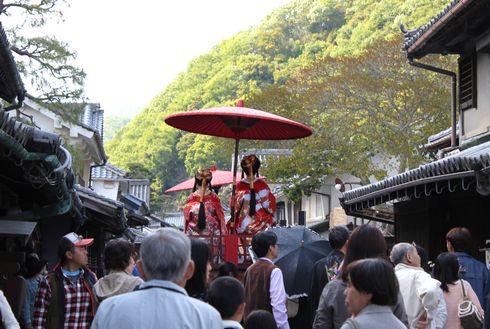 たけはら竹まつり かぐや姫パレードの画像3