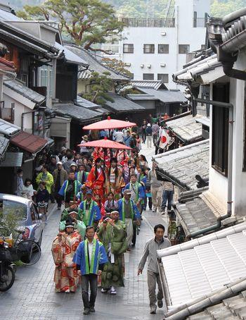 たけはら竹まつり かぐや姫パレードの画像4