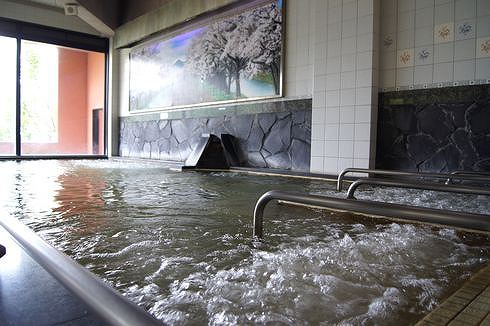 広島 アルカディアビレッジの温泉 大浴場